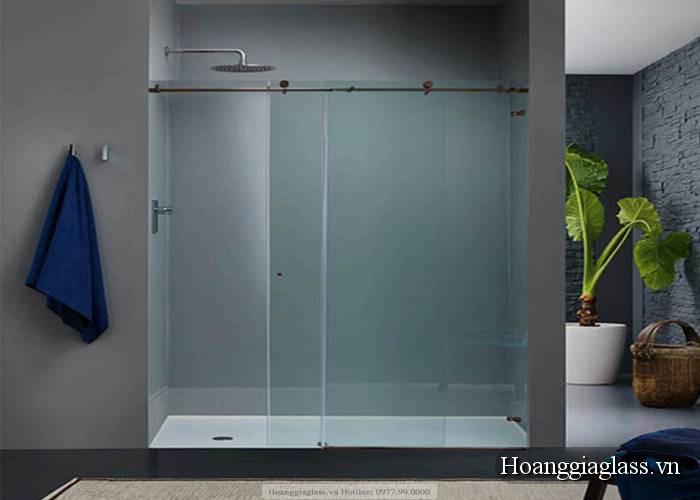 vách kính phòng tắm đẹp hiện đại