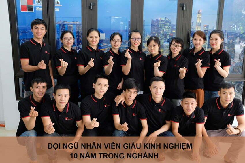 Đội ngũ nhân viên Hoàng Gia Glass